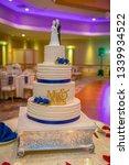banquet wedding cake    Shutterstock . vector #1339934522