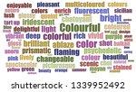Colourful Tag Cloud Aligned...
