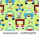 seamless pattern vector with... | Shutterstock .eps vector #1339962878