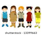 diversity   vector | Shutterstock .eps vector #13399663