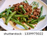 Fried Green String Bean With...