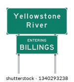 entering billings and... | Shutterstock .eps vector #1340293238