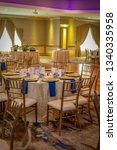 wedding banquet hall   Shutterstock . vector #1340335958
