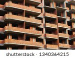 unfinished apartment building | Shutterstock . vector #1340364215