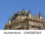 gable decoration in baroque... | Shutterstock . vector #1340385365