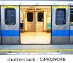 taipei mrt in night | Shutterstock . vector #134039048