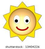 smiling sun | Shutterstock . vector #13404226