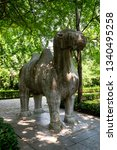 statue of an camel in the... | Shutterstock . vector #1340495258