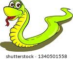 cartoon illustration of kind... | Shutterstock .eps vector #1340501558