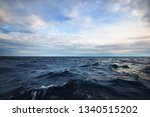 stormy blue sky over the baltic ... | Shutterstock . vector #1340515202