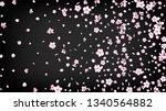nice sakura blossom isolated... | Shutterstock .eps vector #1340564882