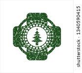 green christmas tree icon...   Shutterstock .eps vector #1340590415
