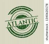 green atlantic grunge style...   Shutterstock .eps vector #1340620178