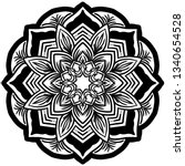 mandala vector art pattern   Shutterstock .eps vector #1340654528