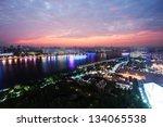 landscape of shanghai | Shutterstock . vector #134065538