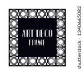 vintage retro ornamental art...   Shutterstock .eps vector #1340665082