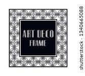 vintage retro ornamental art...   Shutterstock .eps vector #1340665088