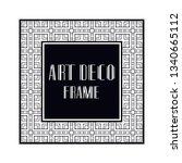 vintage retro ornamental art...   Shutterstock .eps vector #1340665112