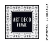 vintage retro ornamental art...   Shutterstock .eps vector #1340665115