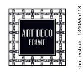 vintage retro ornamental art...   Shutterstock .eps vector #1340665118