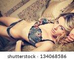 beautiful sexy woman | Shutterstock . vector #134068586