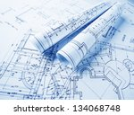 the part of architectural... | Shutterstock . vector #134068748