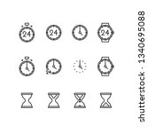 time and clock golden ratio...