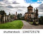 Glasgow Necropolis At Summer...