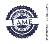 blue lame distressed rubber...   Shutterstock .eps vector #1340733248