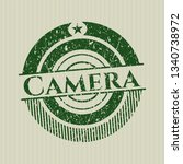 green camera distressed rubber...   Shutterstock .eps vector #1340738972