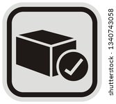 send shipment  web vector icon... | Shutterstock .eps vector #1340743058