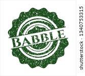 green babble distress grunge...   Shutterstock .eps vector #1340753315