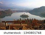 lake bled  blejsko jezero ...   Shutterstock . vector #1340801768