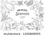 vector illustration sketch  ...   Shutterstock .eps vector #1340808905