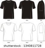 design vector template t shirt...   Shutterstock .eps vector #1340811728