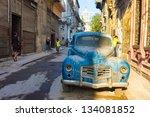 Havana April 4 Street Scene...