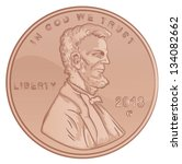 Vector Lincoln Penny United...