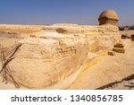 great sphinx of giza from back...   Shutterstock . vector #1340856785