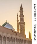 Nabawi Mosque In Early Morning  ...