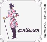 illustration of a stylish... | Shutterstock .eps vector #134087588