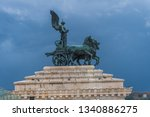 view point on rome from altar... | Shutterstock . vector #1340886275