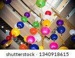 chinese lanterns at shopping... | Shutterstock . vector #1340918615