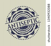 blue antiseptic distressed... | Shutterstock .eps vector #1340932088