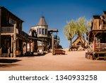 Old Western Wooden Buildings In ...
