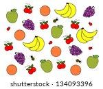 fruit | Shutterstock . vector #134093396