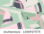abstract collage asymmetric... | Shutterstock .eps vector #1340937575