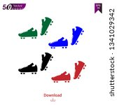 sport shoes icon illustration | Shutterstock .eps vector #1341029342