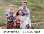 Happy Family At A Picnic....