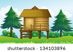 Illustration Of A Small House...