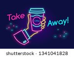 take away and go drinking... | Shutterstock .eps vector #1341041828